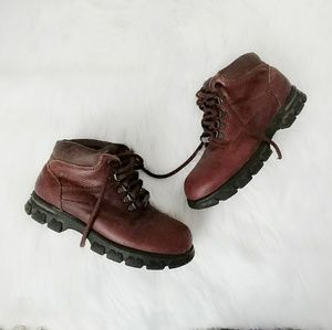 Vintage Dexter Leather Lace Up Ankle Hiking Boots